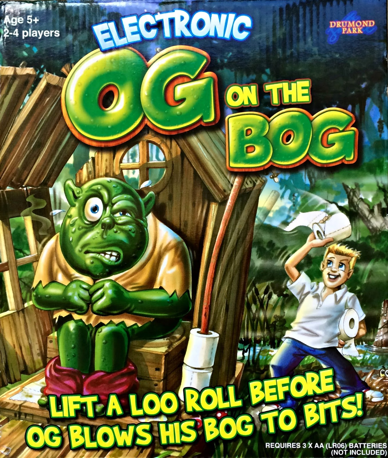 Og on the Bog game by Drumond Park