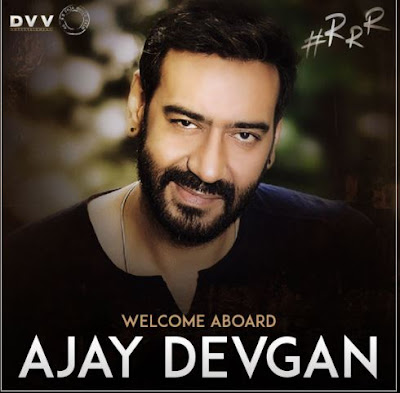 Ajay Devgan in RRR movie, RRR Movie Ajay Devgn
