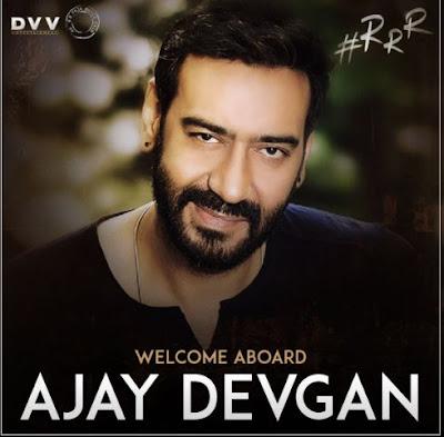 Ajay Devgan in RRR movie, RRR Movie Ajay Devgn