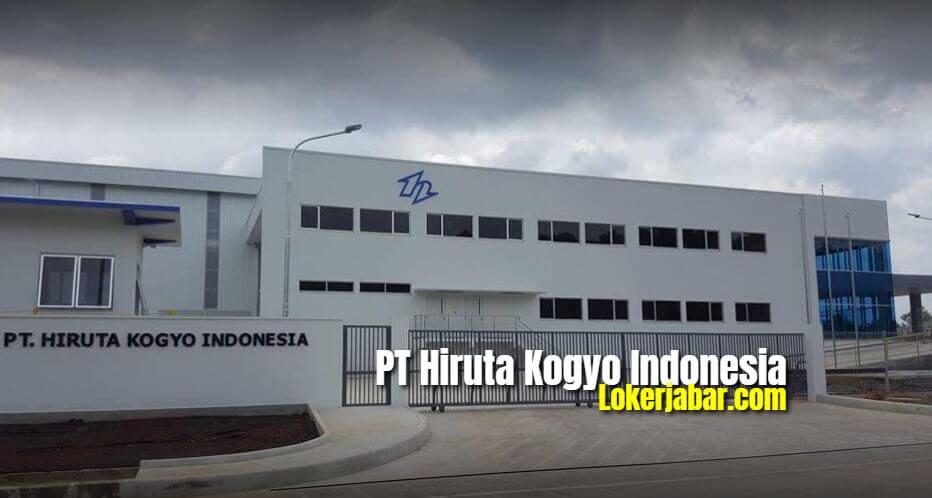 Lowongan Kerja PT. Hiruta Kogyo Indonesia Karawang 2021