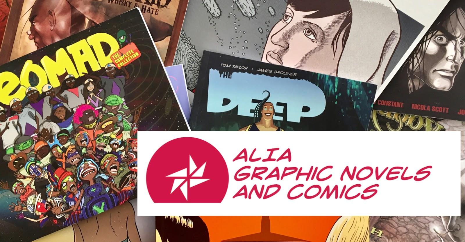 ALIA Graphic Novels and Comics