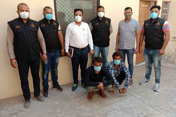 faridabad-cia-sector-48-arrested-2-loot-accused-in-24-hour