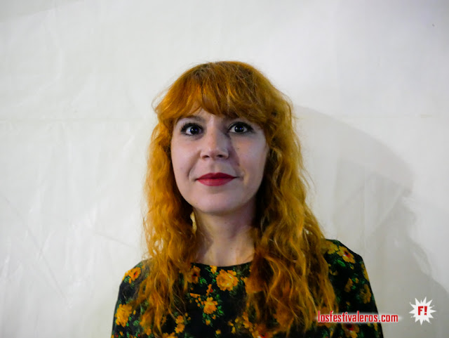 Entrevista a Merve Daşdemir de Altin Gün en el Womad Gran Canaria 2019