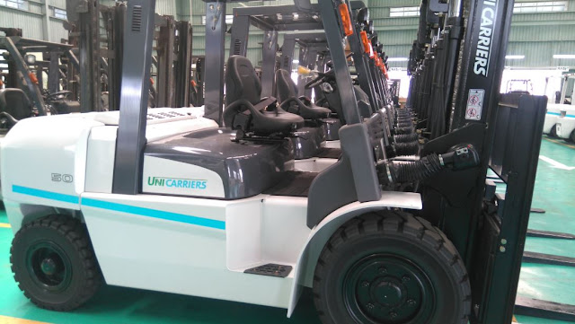 Unicarriers diesel forklift 4 - 5 tons