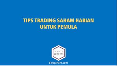 tips trading saham harian untuk pemula