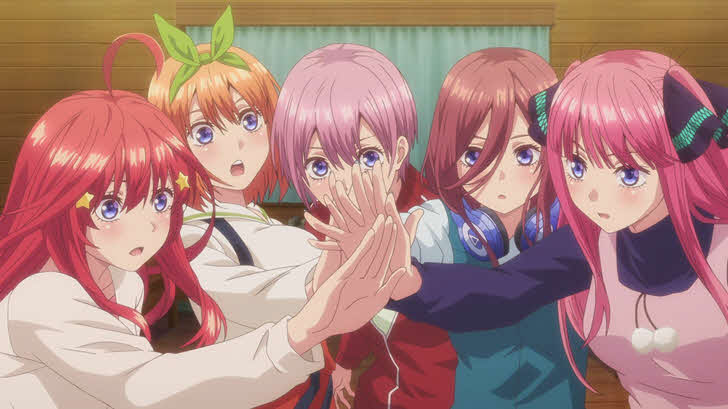 Anime Like The Quintessential Quintuplets