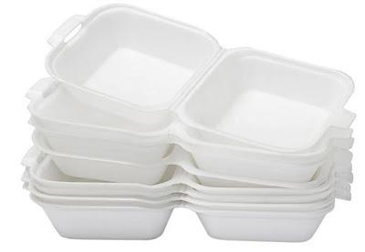 Polystyrene atau Styrofoam (PS)