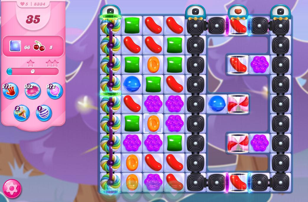 Candy Crush Saga level 8334