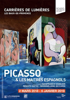 Picasso Opens March 2 in Les Baux...and Paris News