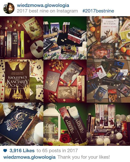 Wiedźmowa głowologia, recenzje książek, czytelnicze podsumowanie 2017 roku
