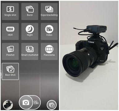 """يُعتبر هذا التطبيق من أفضل تطبيقات الكاميرا لمُستخدمي هواتف أندرويد. حيث يأتي التطبيق ببعض الخصائص الرائعة والممتعة ومن أهم هذه الخصائص هي خاصية """"BestShot""""والتي تقوم بالتقاط مجموعة من الصور بشكل مُتتالي ..."""