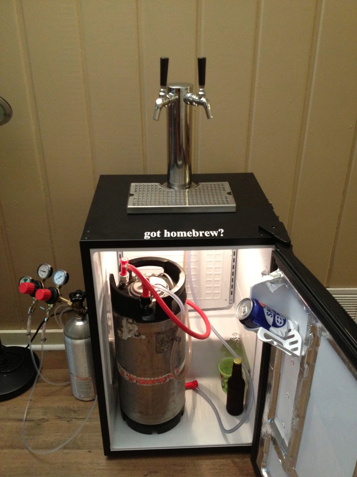 Foothold Brewing New Homemade Kegerator