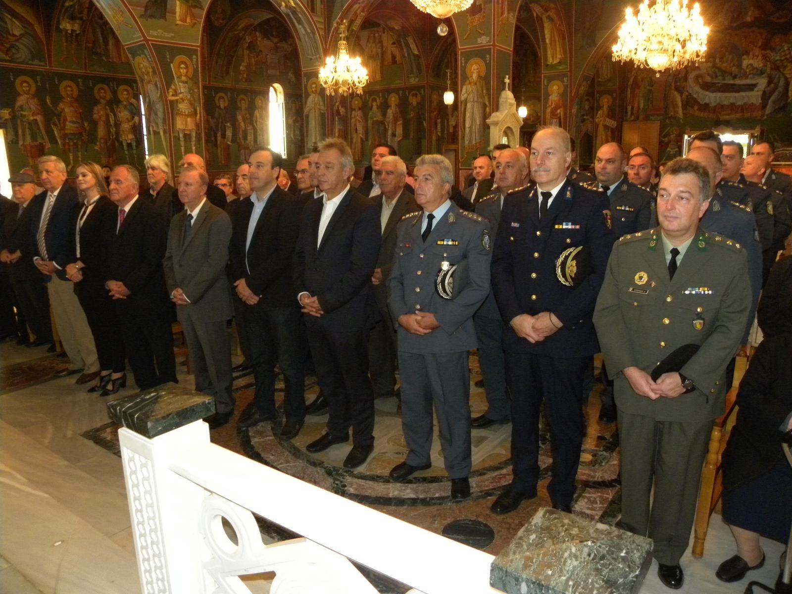 Εκδηλώσεις για τον εορτασμό της «Ημέρας της Αστυνομίας»