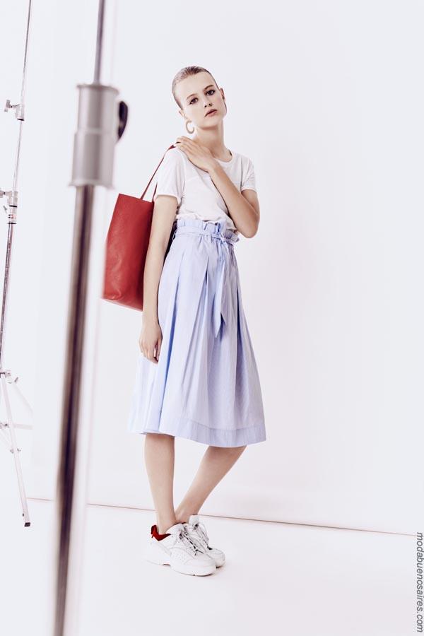 Faldas primavera verano 2019 ropa de mujer.