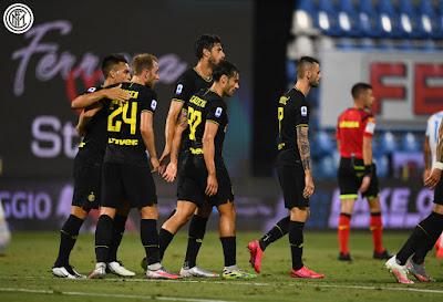 ملخص واهداف مباراة انتر ميلان وسبال (4-0) الدوري الايطالي