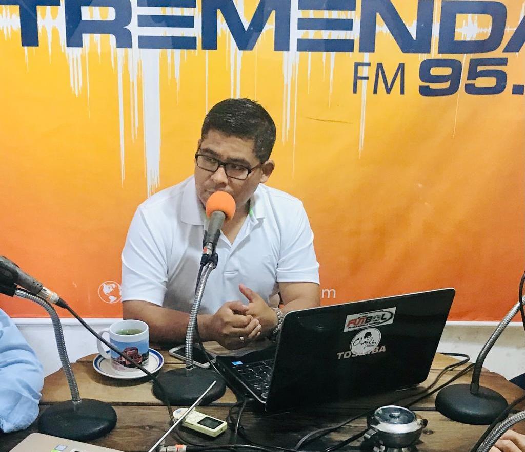 El periodista del programa Sólo Fútbol Radio, Jaime Vega / RRSS