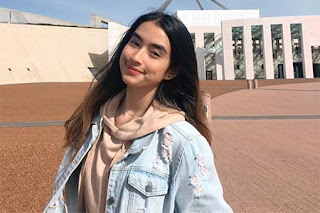 Nadia Raisya Pakai Jaket