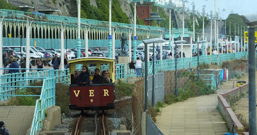 Rails in the Shingle - the Volk's Railway at Brighton