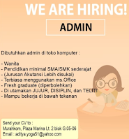 We Are Hiring at Murahkom Surabaya Juni 2021