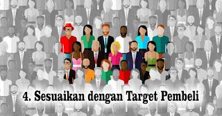 Sesuaikan dengan Target Pembeli agar Sukses berjualan Online