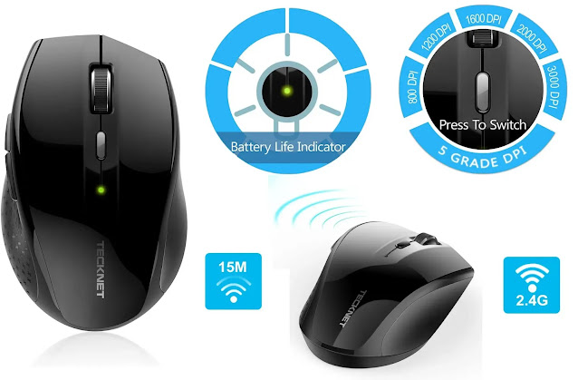 Gaming Mouse,VicTsing 2.4G Wireless Review
