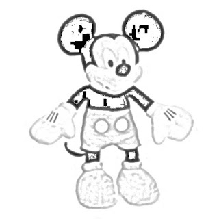 Mickey Mouse plush toy Disney toy coloring pages coloring.filminspector.com
