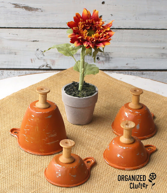 Kitchenware Repurposed As Fall Decor