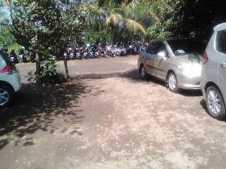 Area Parkir di Kopi Klotok Kaliurang
