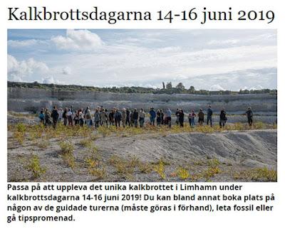 Limhamn Kalkbrottsdagarna 2019