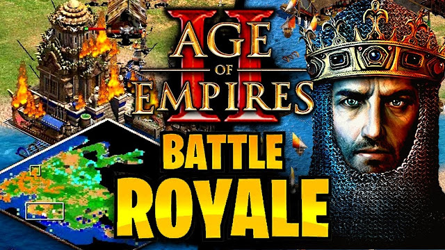 El nuevo modo Battle Royale de Age of empire Definitive edition está causando furor