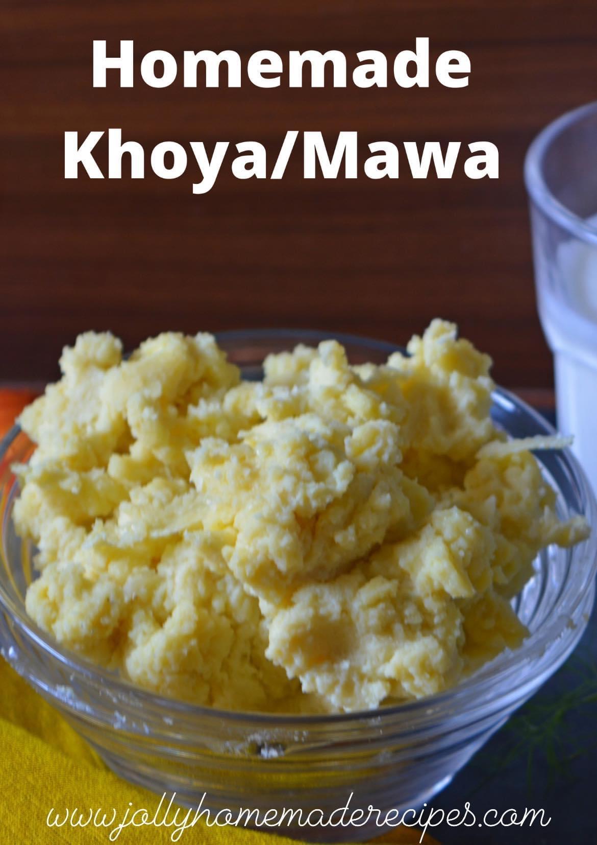 Homemade Khoya(mawa) Recipe
