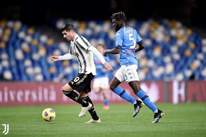 Serie A: il Napoli supera la Juventus, decisivo il rigore di Insigne