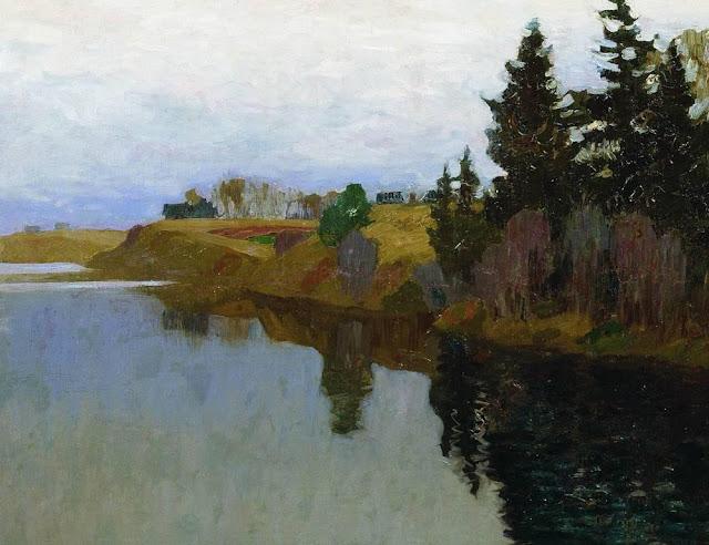Исаак Ильич Левитан - Озеро. 1893
