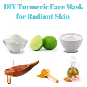 DIY Turmeric Face Mask for Radiant Skin