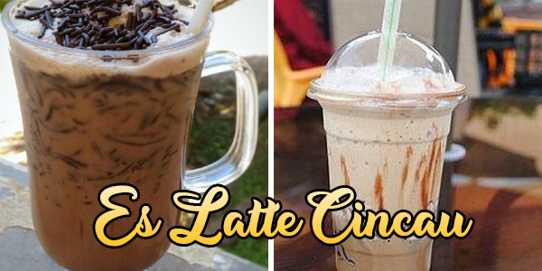 Es Latte Cincau