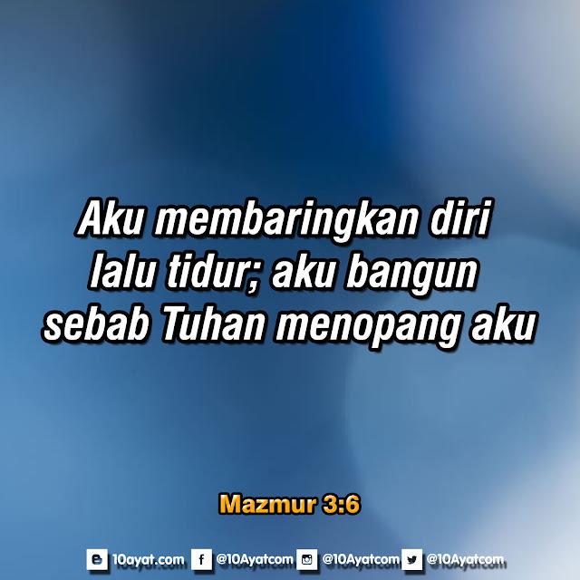 Mazmur 3:6