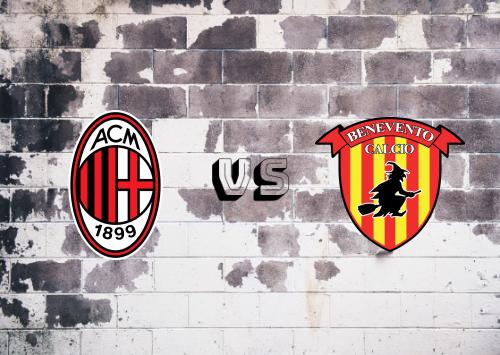 Milan vs Benevento  Resumen y Partido Completo