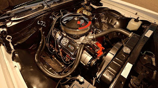 1969 Chevrolet Bel Air Sport Coupe L-72 Engine