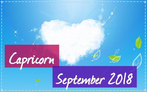 Capricorn in September 2018