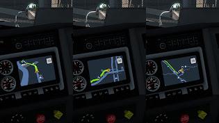 ats yandex navigator night version screenshots 1
