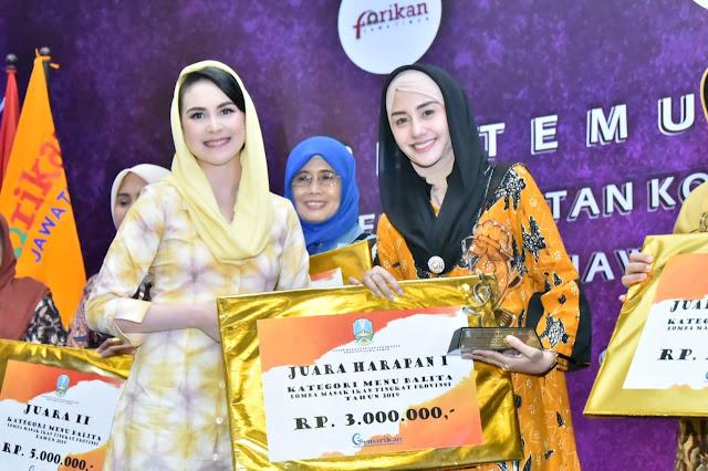Ikuti Lomba Masak Ikan Tingkat Provinsi, Novita Hardini Apresiasi Prestasi Kabupaten Trenggalek