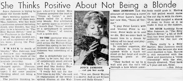 Joyce Jameson Article