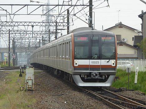 東武東上線 快速急行 森林公園行き2 東京メトロ10000系