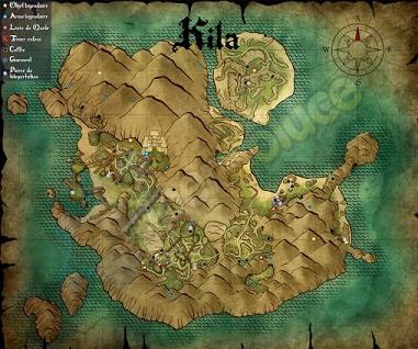 Risen 3, Titan Lords, Kila Map