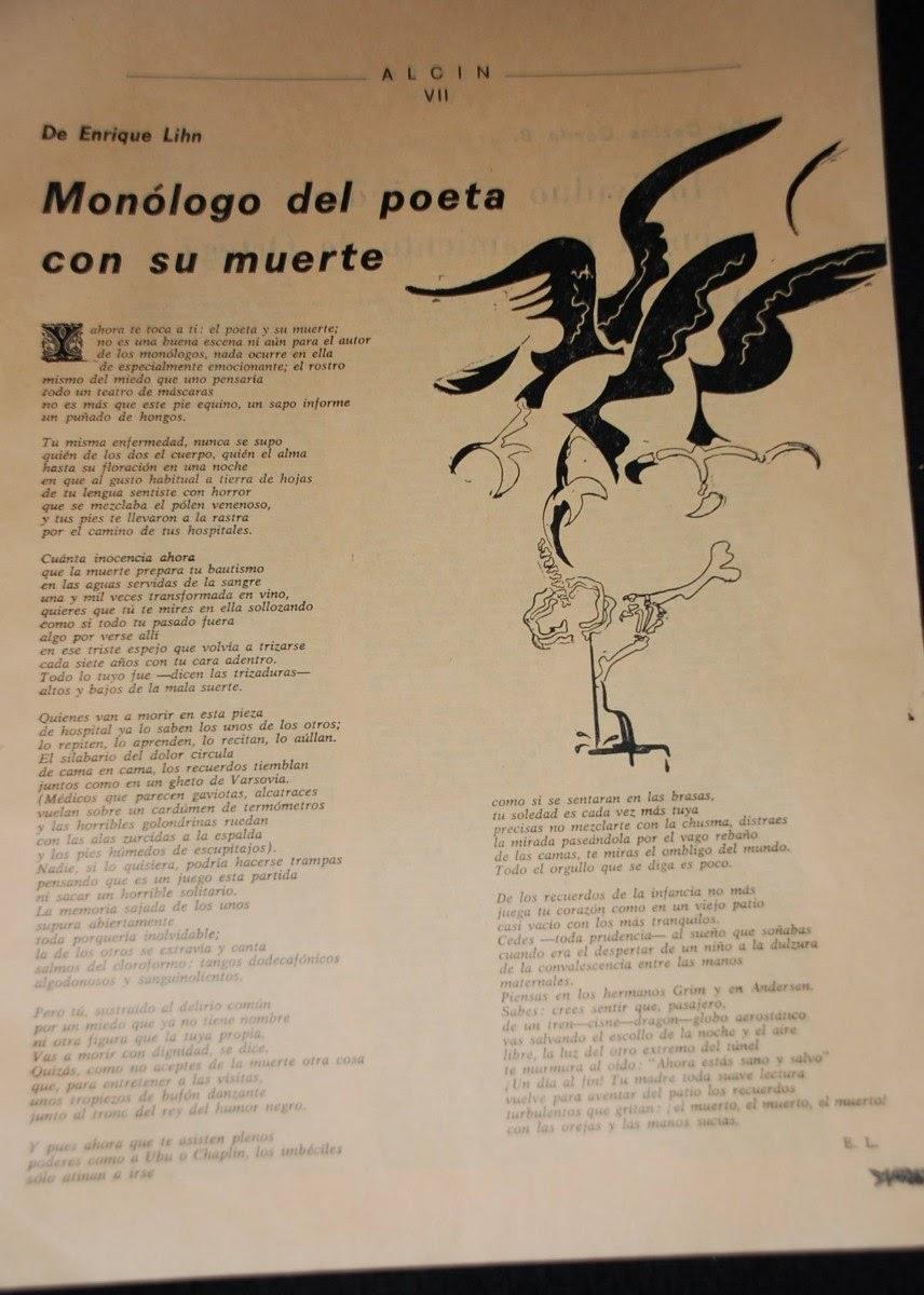 Monólogo del poeta con su muerte (Ilustración de Deisler)