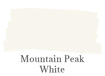 Benjamin Moore Mountain Peak White