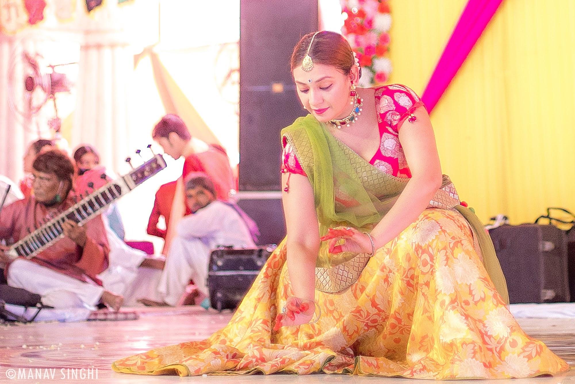 Richa Gupta Kathak Fagotsav 2021 Govind DevJi, Jaipur. Day - 3