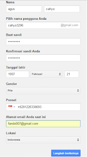 Cara Mudah Membuat Email di Gmail