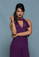 Priyanka Chopra in Mesmerizing Purple Backless Deep neck Gown 3).jpg