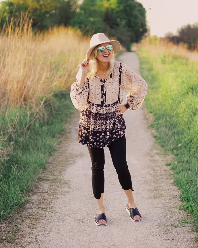 how to style a boho outfit for spring